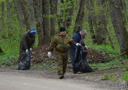 В крае прошел Всероссийский субботник «Зеленая Весна»