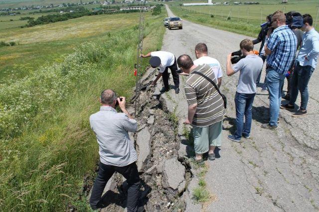 На Ставрополье в этом году начнётся ремонт дороги-лидера «народного антирейтинга» ОНФ