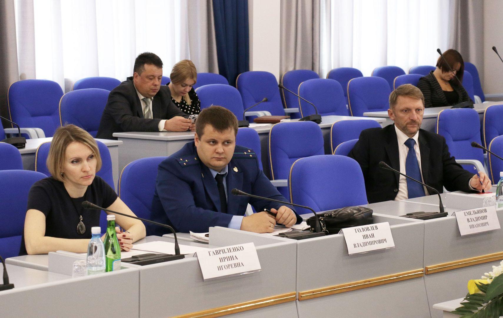 В Ставрополе парламентарии обсудили развитие водохозяйственного комплекса края