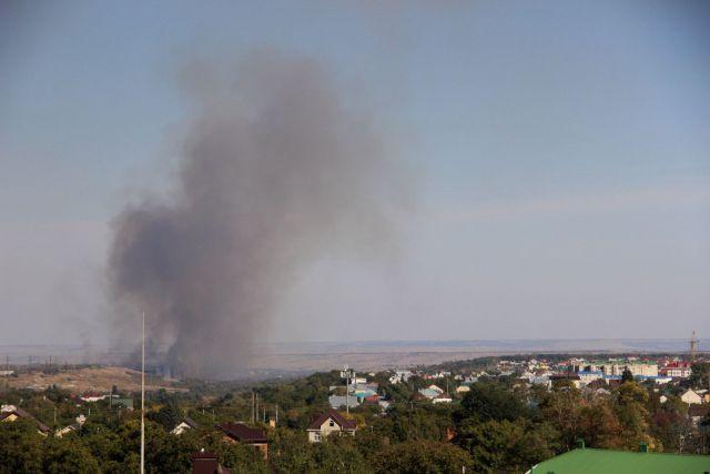 В Ставрополе пожарные спасли от огня крупный автоцентр