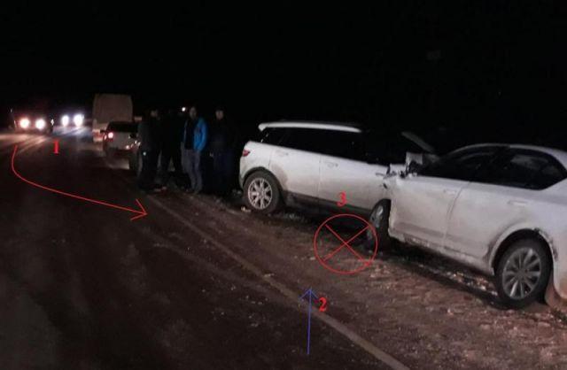 Три человека пострадали в ДТП с двумя легковушками на Ставрополье