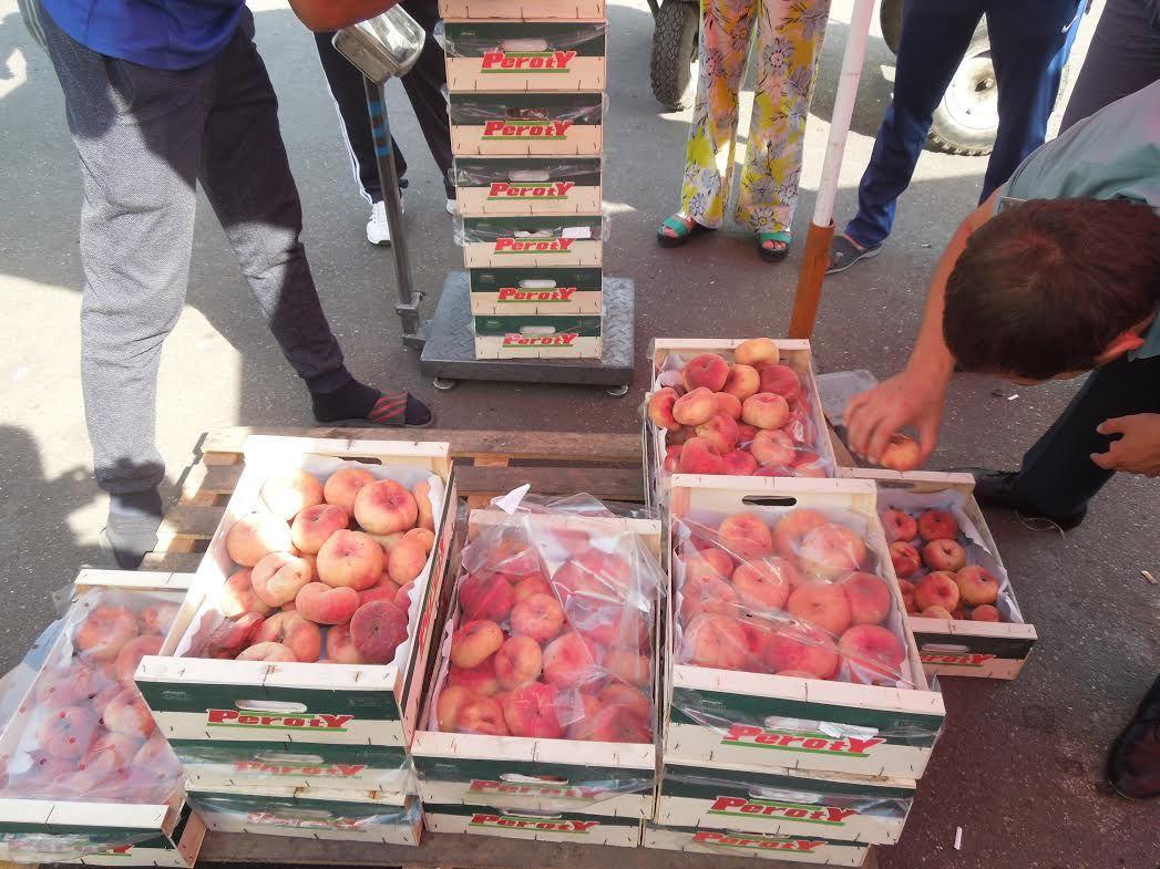 НаСтаврополье уничтожили около тонны санкционных испанских персиков