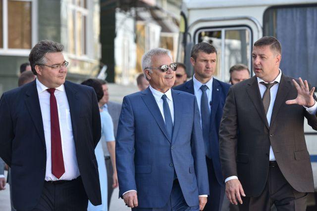 Президент ПАО «ЛУКОЙЛ» посетил Ставрополье