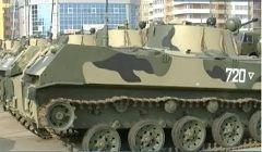 Казачьему десантно-штурмовому полку вручили более сотни новых БМД-2