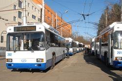 Энергосберегающие троллейбусы вышли на маршруты