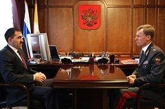 Начальник ГУВД встретился с Главой Республики Ингушетии