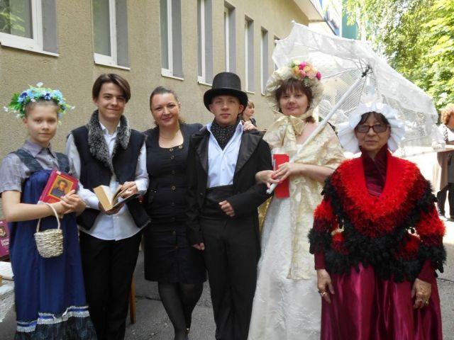 В Невинномысске стартовал фестиваль уличного чтения