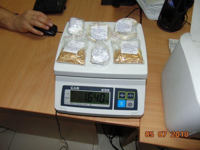 Пассажирка авиарейса «Минеральные Воды — Стамбул» пыталась незаконно провезти золото на 4 миллиона рублей