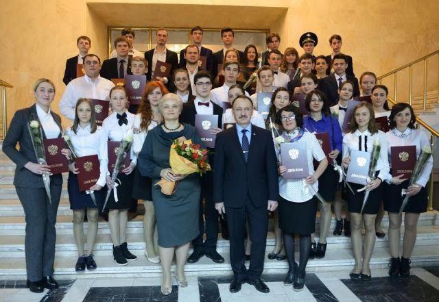 Ставропольские школьники стали лауреатами премии президента РФ