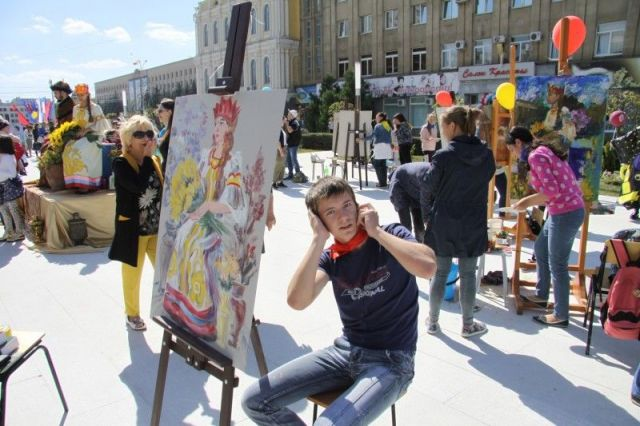 Городской пленэр в Ставрополе продолжается