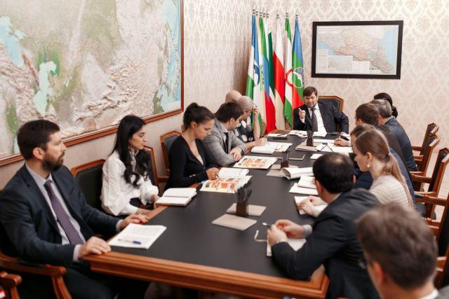 В Минкавказе России обсудили реализацию инвестпроектов Корпорации развития Северного Кавказа