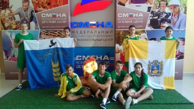 Школьники Ставропольского края принимают участие в «Президентских состязаниях»
