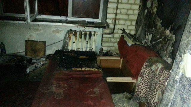 В Ставрополе в пожаре погиб человек