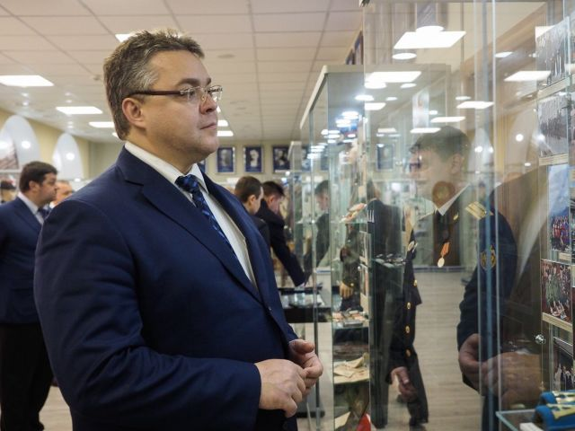 Глава Ставропольского края поздравил сотрудников безопасности