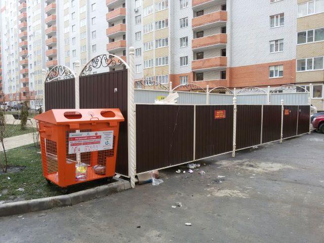 В Ставрополе устанавливают контейнеры для раздельного сбора мусора