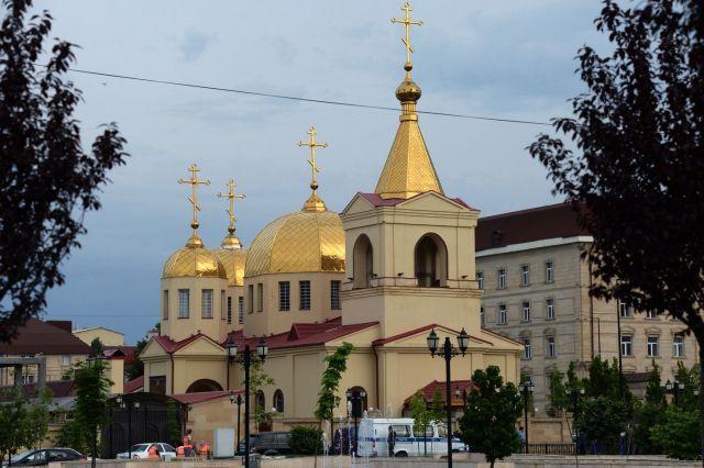 В Грозном уничтожены боевики, пытавшиеся захватить прихожан в церкви
