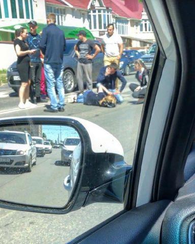 В Ставрополе найден водитель, который сбил девушку и скрылся с места ДТП