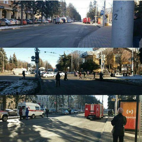 В Ставрополе оцеплено несколько медучреждений