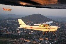 В Пятигорске проходит авиатуристический слет, посвященный 210-летию КМВ