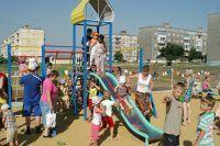 В 32-м микрорайоне Ставрополя открыли Аллею Победы