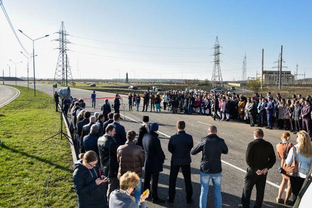 В Ставрополе официально открыто движение по новому проспекту