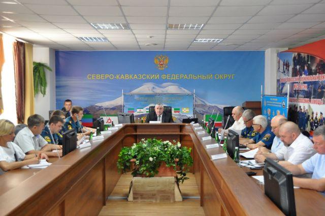 На Ставрополье прошло заседание комиссии по предупреждению и ликвидации ЧС в СКФО
