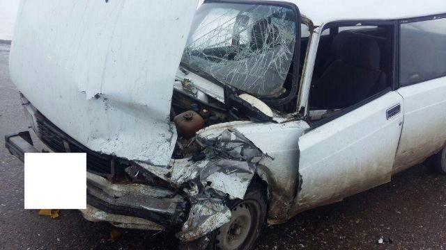 На Ставрополье в ДТП пострадал трёхлетний пассажир легковушки