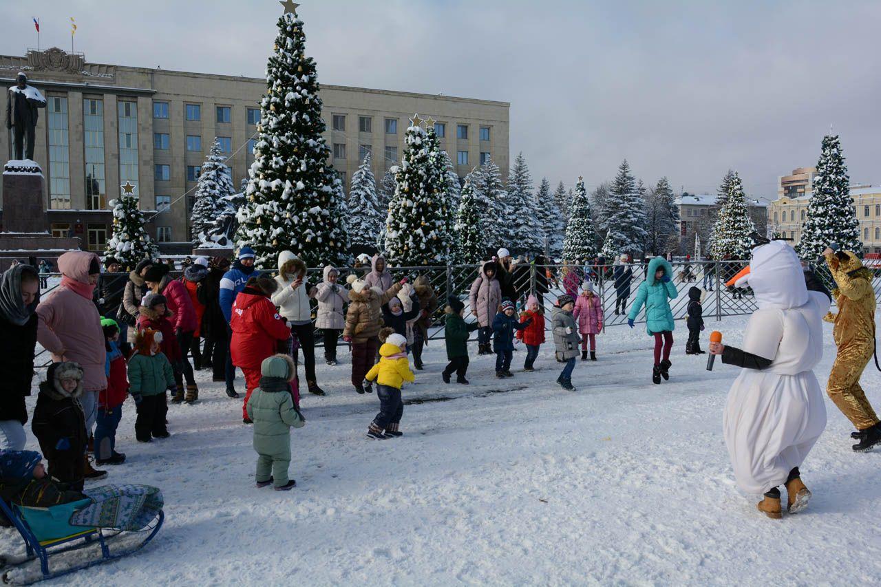 Живые символы Нового года порадовали ставропольцев небывалым шоу