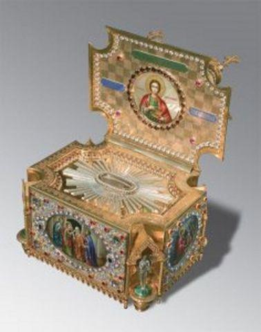 В Ставрополь доставили ковчег с мощами святых апостолов и Николая Чудотворца