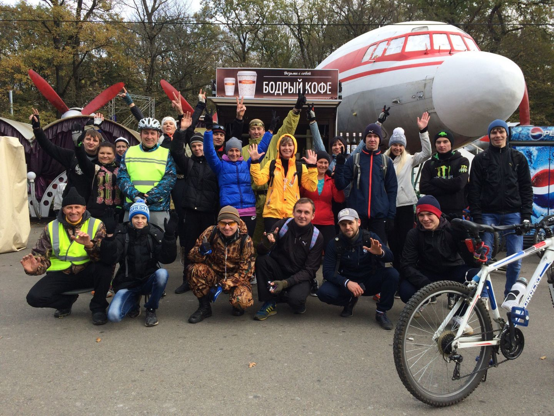 Вкраевом центре прошел велопробег «Ялюблю Ставрополь»