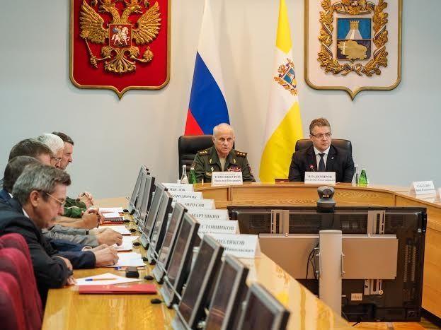 Общероссийскую работу по призыву и военно-патриотическому воспитанию обсудили на Ставрополье
