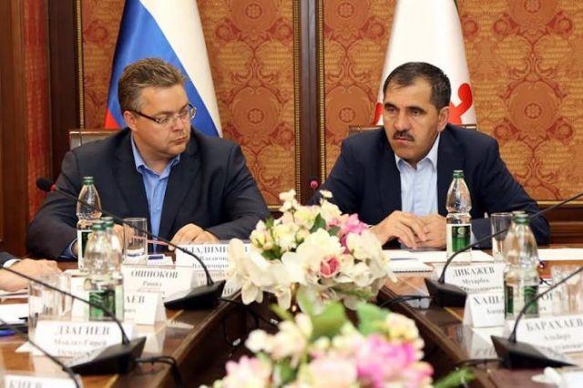 Ставрополье и Ингушетия заключат соглашение о сотрудничестве