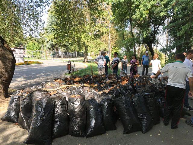 Генеральную уборку перед Днём города провели ставропольцы
