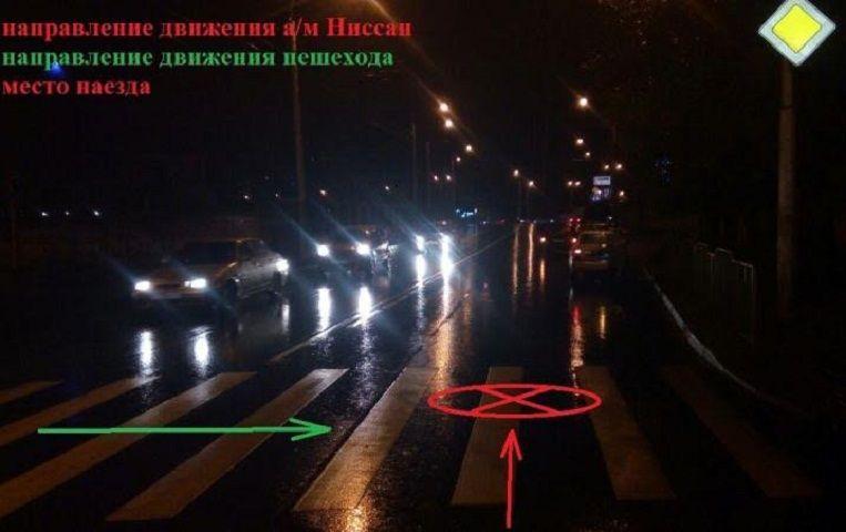 Автоледи на Ниссан сбила девушку-пешехода на«зебре» вСтаврополе
