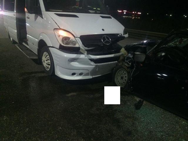 Ночью в результате ДТП в Минеральных Водах погиб водитель «Приоры»