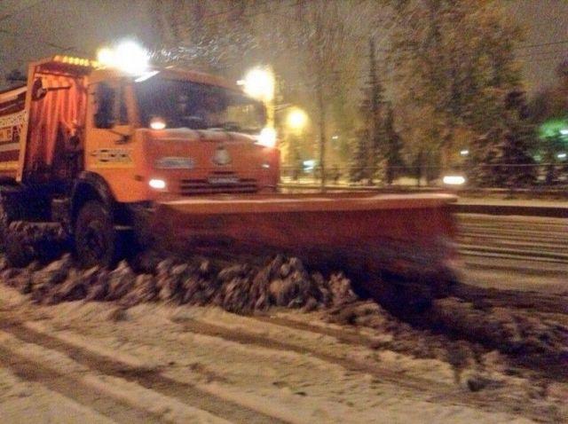 Мэрия: Снегоуборочная техника в Ставрополе работает в непрерывном режиме