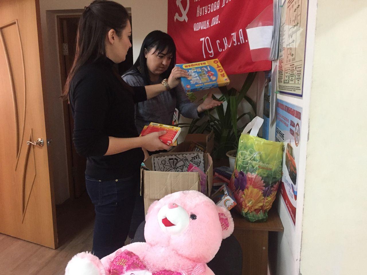 Волонтёры Кисловодска передали подарки детям Юго-Востока Донецкой и Луганской народных республик