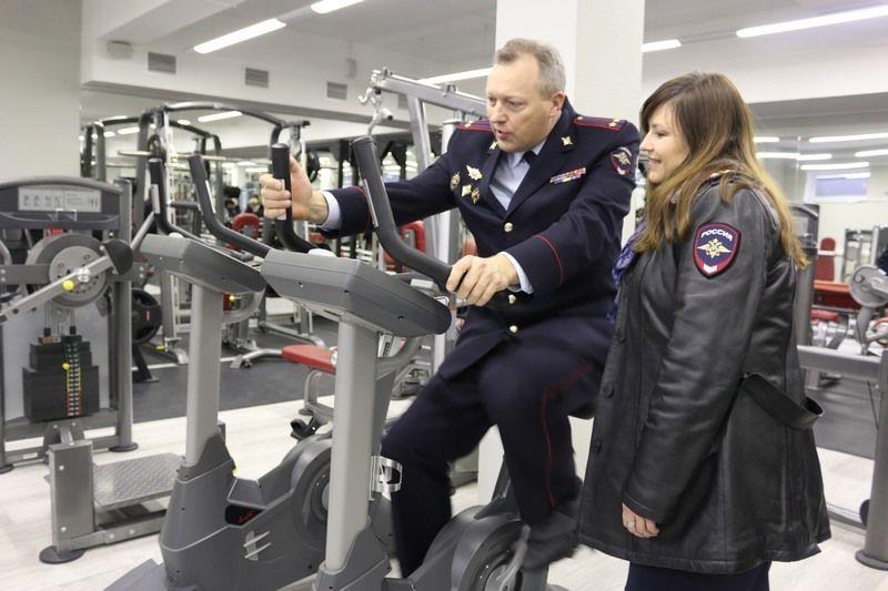 ВСтаврополе открыли тренировочный центр МВД