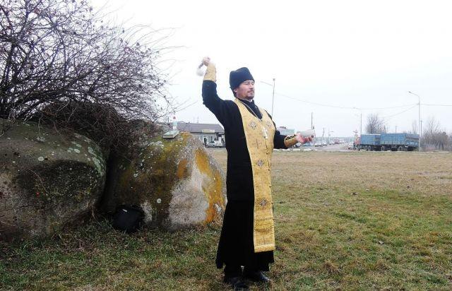 На Ставрополье освятили опасные участки дорог