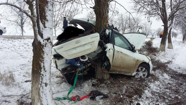 В Ставропольском крае нарушитель попал в смертельное ДТП