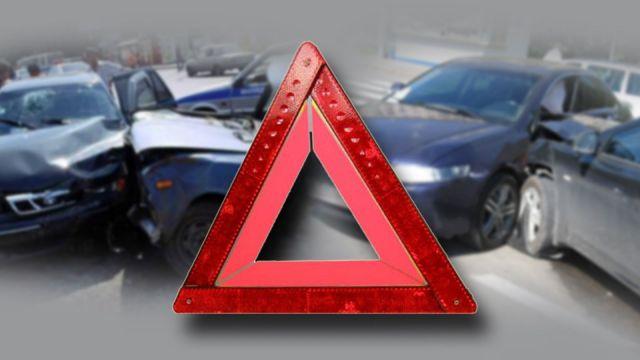 В Пятигорске столкнулись пять автомобилей