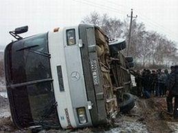 """Перевернулся автобус """"Москва - Ставрополь"""""""