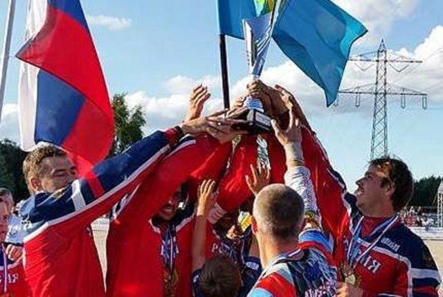 Мотоболисты ипатовского «Колоса» стали чемпионами Европы