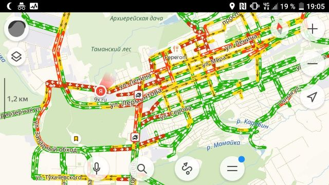 В Ставрополе в нескольких районах образовались автомобильные заторы