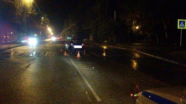 В Ставрополе водитель легковушки сбил молодого человека