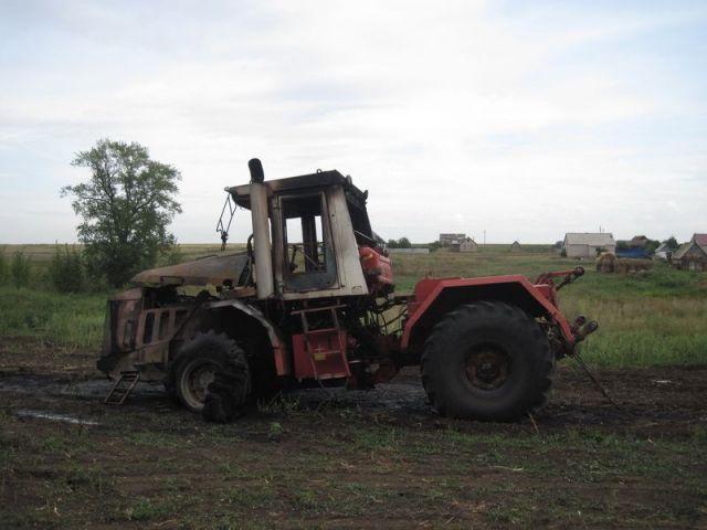 Житель Ставрополья украл у соседа неисправный трактор