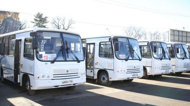 В Пятигорске запустили автобусы, работающие на экологически чистом газовом топливе
