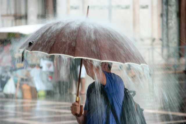 На Ставрополье 14 октября прогнозируется сильный дождь