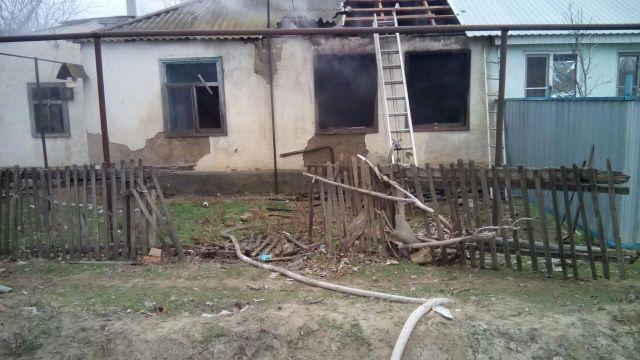 На Ставрополье в пожаре погиб мужчина