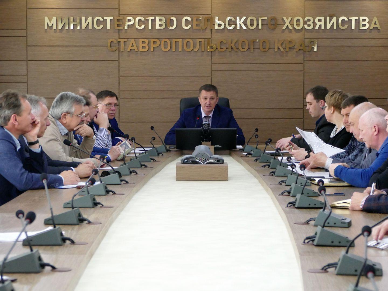 В 2017-м на Ставрополье на рубль краевых средств, направленных на развитие мелиорации, привлекается семь федеральных
